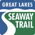Great Lakes Seaway Trail route marker
